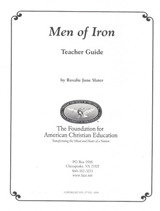 Men of Iron Teacher Guide