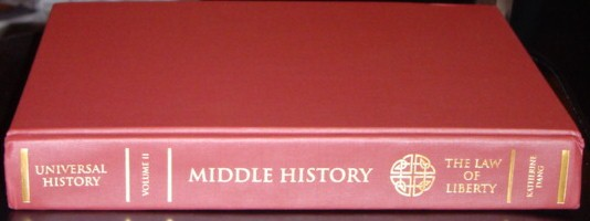 Middle History: The Law of Liberty
