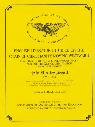 Sir Walter Scott Teacher Guide