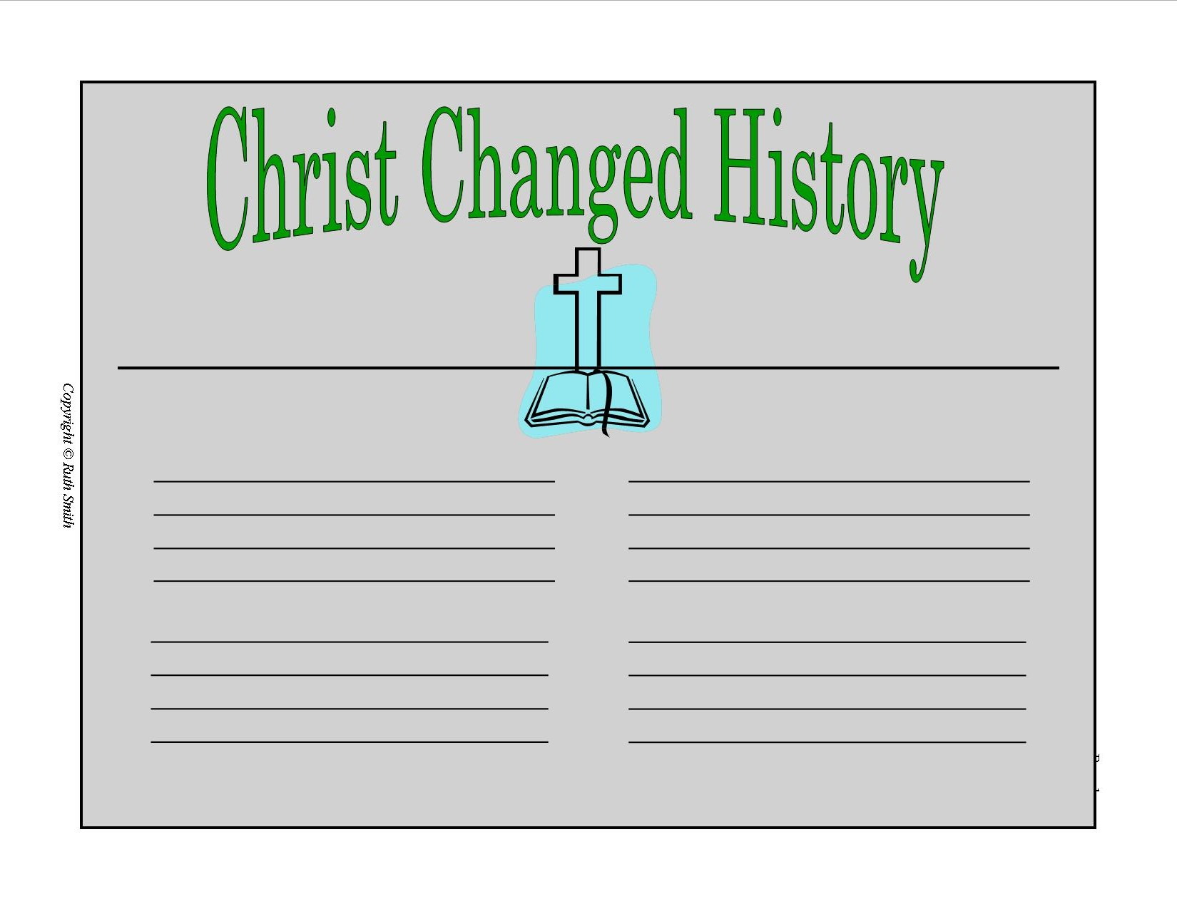 christ changed history sap2